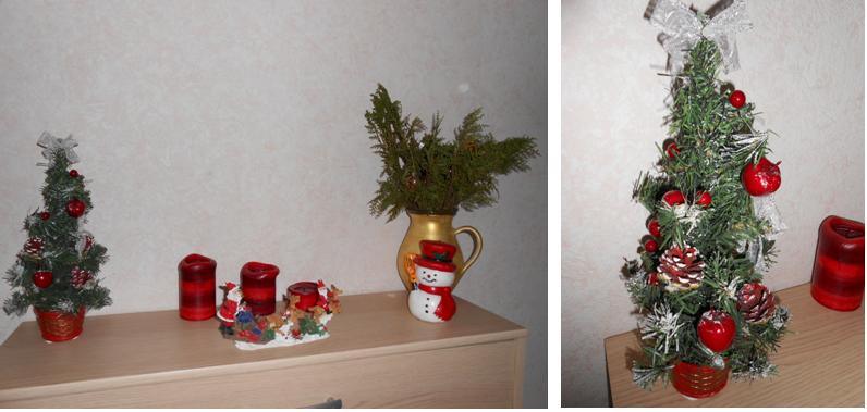 Ma déco de Noël 2014 | D'une aiguille à l'autre